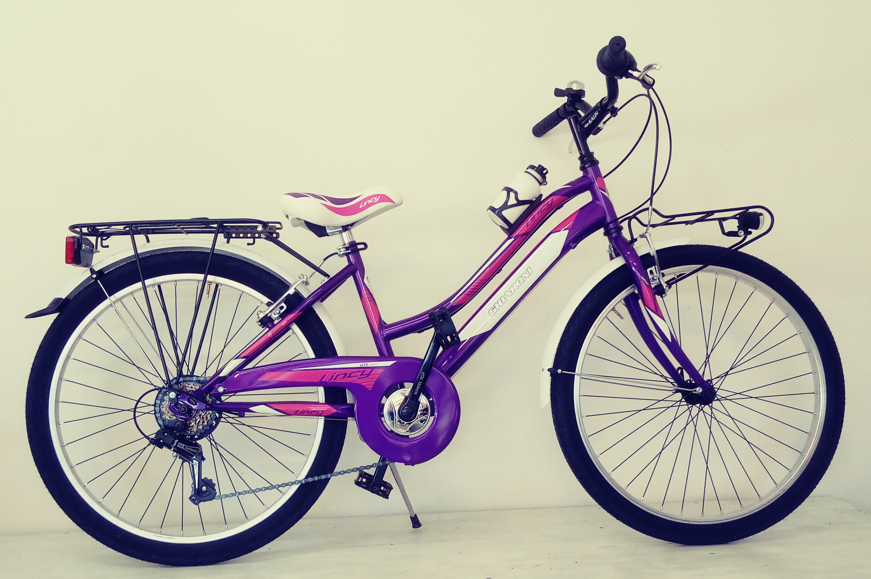 "Art. 50.11 CITY BIKE RAGAZZA 24"" LINCY CAMBIO 6V"