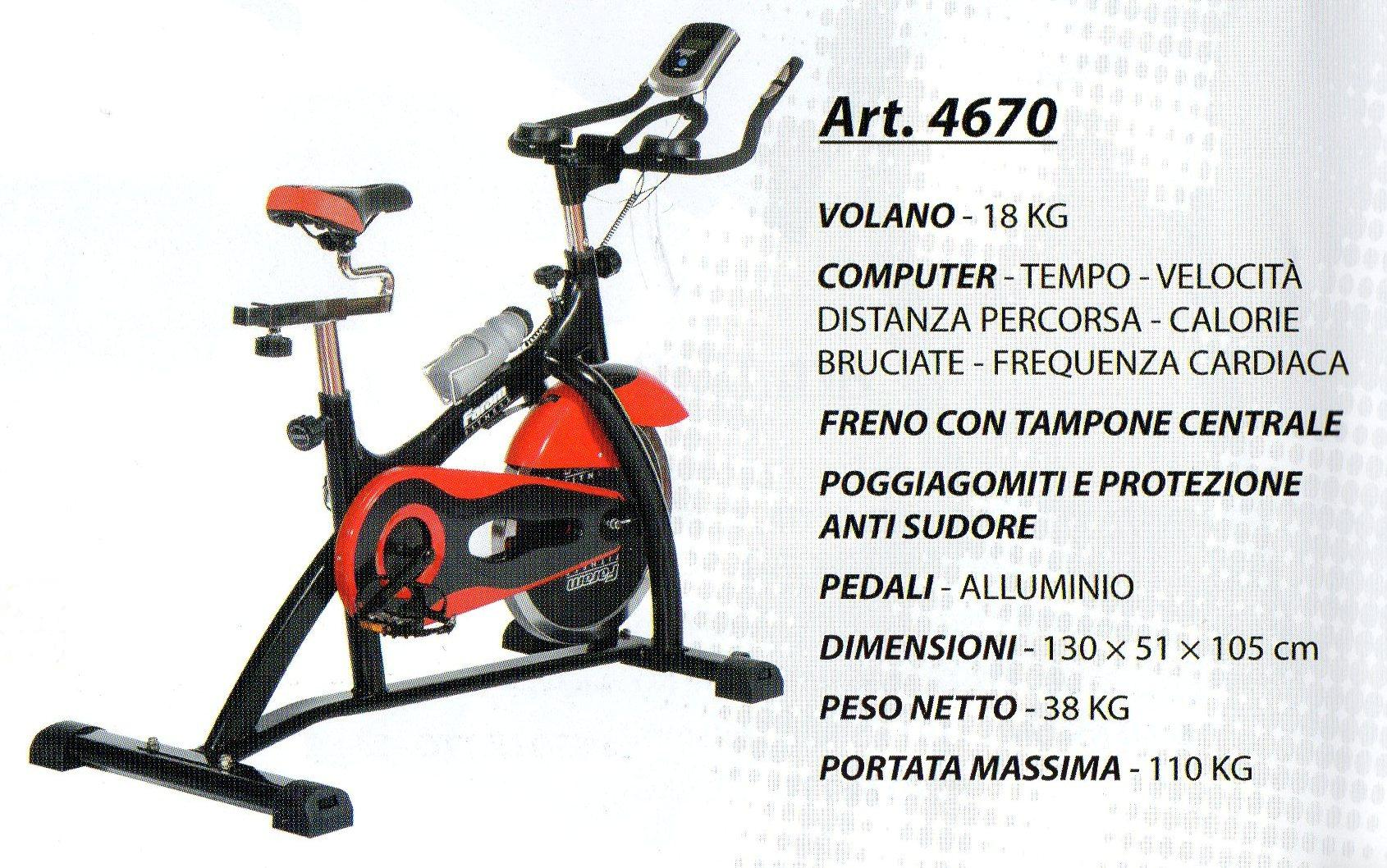 SPIN BIKE  4670 HOME FITNESS